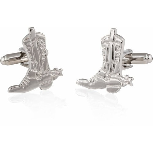 Cowboy Boots And Spurs Cufflinks Wild West