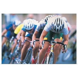 """""""Cyclists"""" Poster Print"""