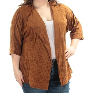 Womens Brown Jacket Size 2X
