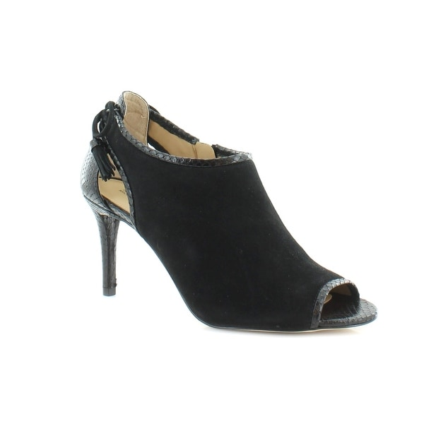MICHAEL by Michael Kors Jennings Mid Bootie Women's Boots Black