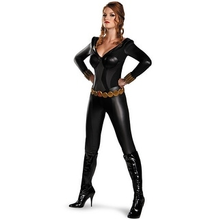 Disguise Black Widow Bustier Adult Costume
