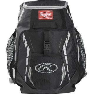 Rawlings R400-S Players Backpack (Black)