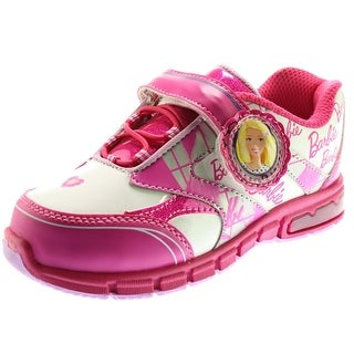 Barbie Girls Patent Toddler Fashion Sneakers - 11
