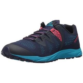 Merrell Womens Riveter- E Low Top Lace Up Running Sneaker