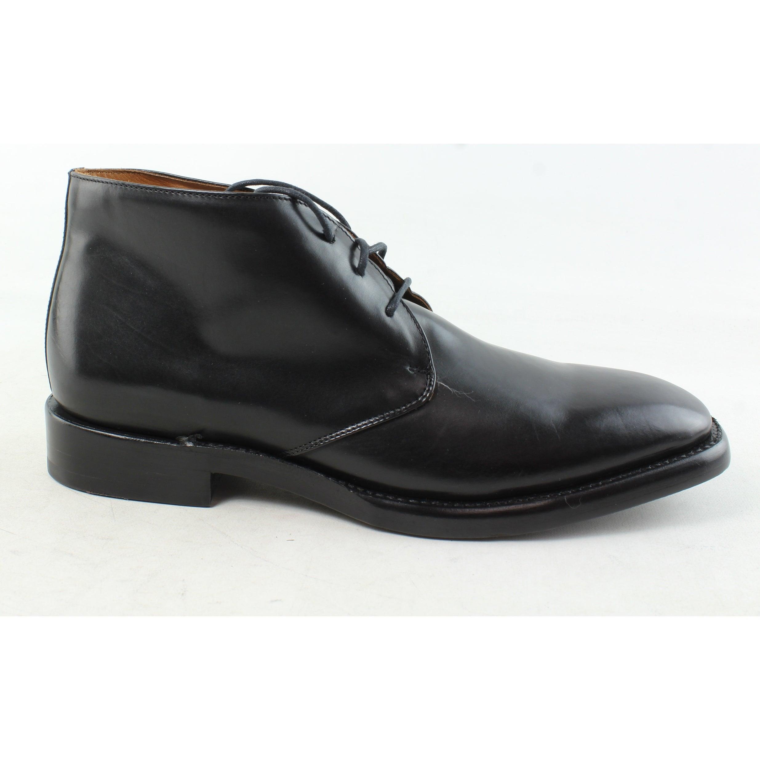 Frye Mens Weston Black Ankle Boots Size