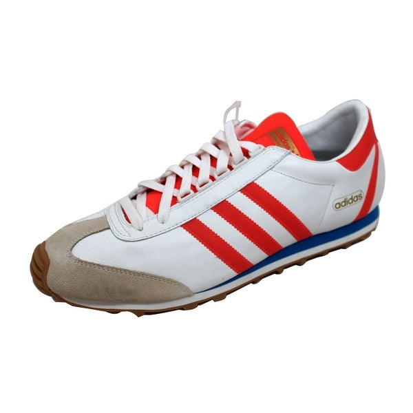 Adidas Men's Nite Jogger + White/Infrared-Blue Bird 678546