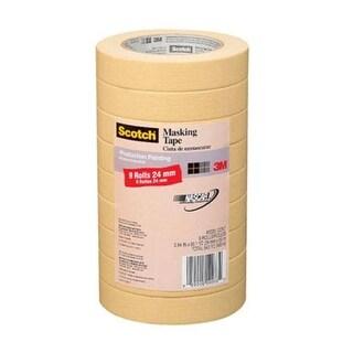 """Scotch 2020-24A-CP Masking Tape, 0.94"""" x 60.1 Yard"""