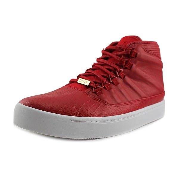 Jordan Jordan Westbrook O Men Round Toe Leather Red Basketball Shoe