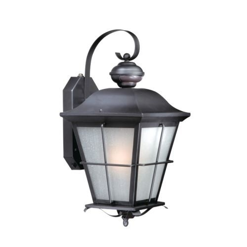 Vaxcel Lighting Smart Lighting New Haven Dualux? 1 Light Outdoor Wall Sconce with Photocell and Motion Sensor