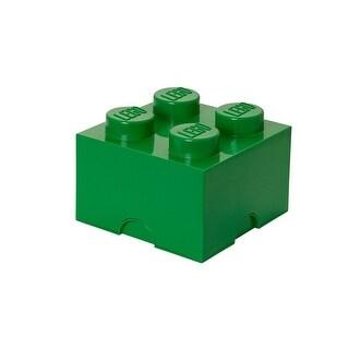 LEGO Storage Brick 4, Dark Green - Multi