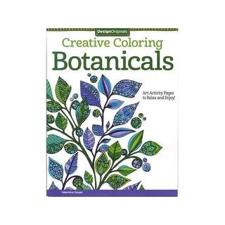 Design Originals Botanicals Coloring Bk
