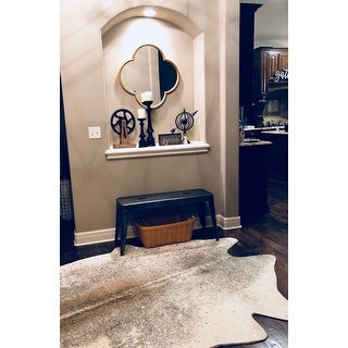 Clayton Faux Cowhide Area Rug