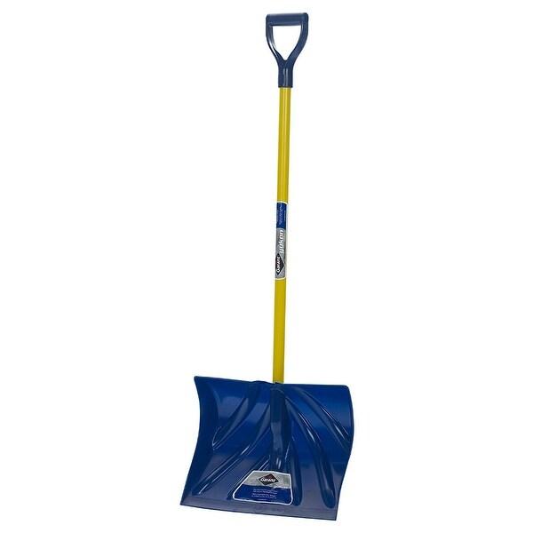 """GarantA YPM18FKDU Yukon Ergo Snow Shovel, 18"""" Poly Blade & Fiberglass D-Handle"""