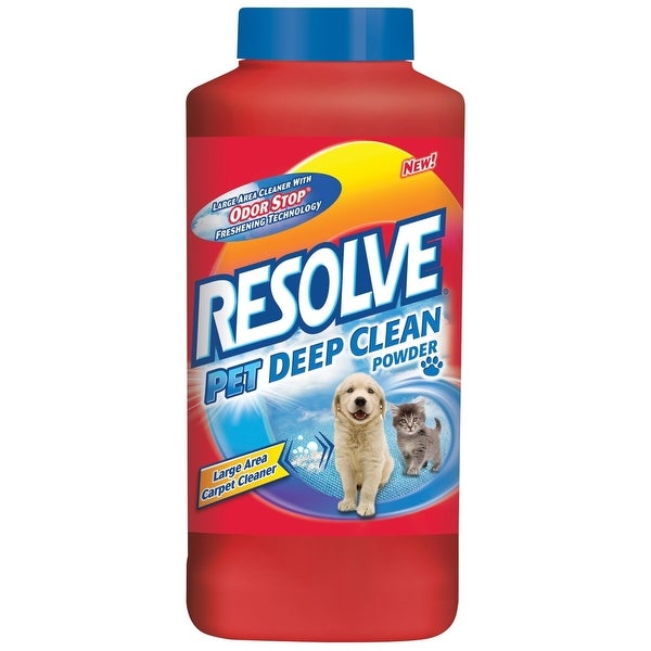 Resolve 1920082652 Pet Deep Clean Carpet Cleaner Powder, 18 Oz