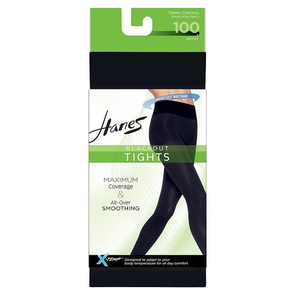 2 X-Temp Footless Tights