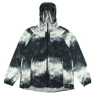 The North Face Womens Flyweight Hoodie Black - BLACK/WHITE