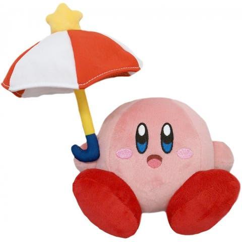 Kirby Nintendo 7 Inch Plush - Parasol Kirby - Multi