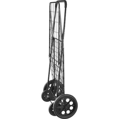 Whitmor 6318-2678 deluxe rolling utlity cart blk