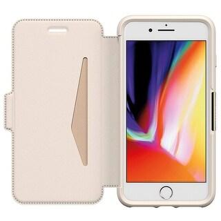 OtterBox Strada Leather Folio Case for iPhone 8 PLUS & iPhone 7 PLUS - Soft Opal Beige