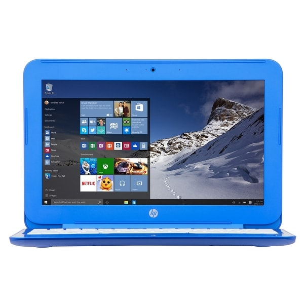 Manufacturer Refurbished - HP Stream 13-c110nr 13.3 Laptop Intel N3050 1.6GHz 2GB 32eMMC Windows 10