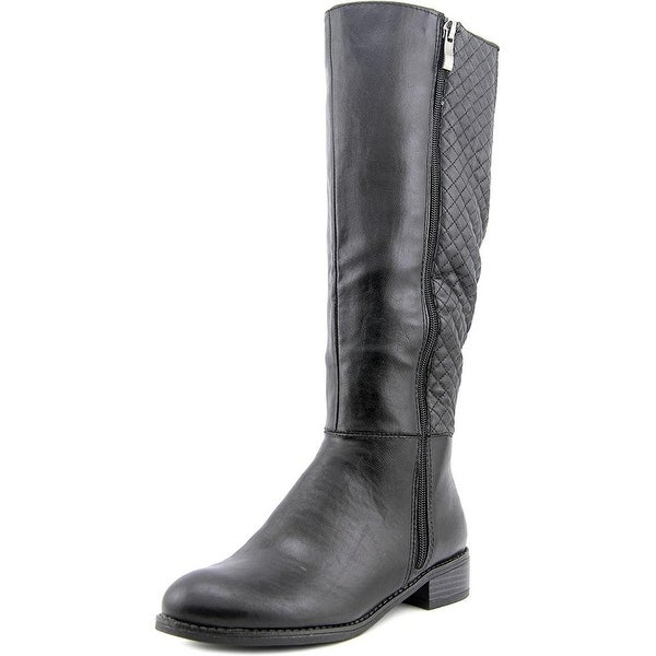 LifeStride Womens Safe Almond Toe Mid-Calf Fashion Boots