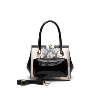Style Strategy Coral Patent Leather Bag Black|https://ak1.ostkcdn.com/images/products/is/images/direct/6ceee60a1e57eca3f784aa998146734e26a3f7f7/Style-Strategy-Coral-Patent-Leather-Bag-Black.jpg?impolicy=medium
