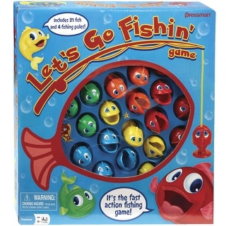 Pressman Lets Go Fishing Game