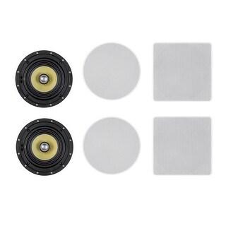 Monoprice In-Ceiling Speakers (pair) - 6.5in
