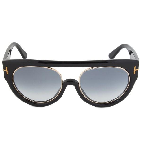 49f0c0018a Shop Tom Ford Alana Sunglasses FT0360 01B