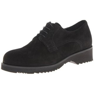 La Canadienne Womens Hudson Suede Waterproof Derby Shoes