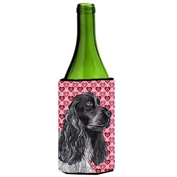 2b7323d92de3 Shop Cocker Spaniel Valentines Love Wine bottle sleeve Hugger 24 oz. - Free  Shipping On Orders Over  45 - Overstock.com - 25050128