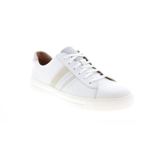 Clarks Un Maui Band Combi White Womens Lifestyle Sneakers