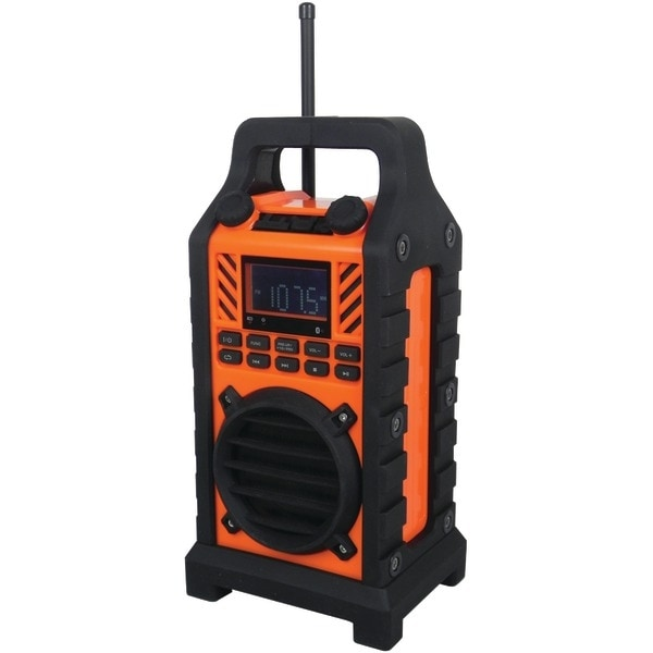 Sylvania Sp303 Orange Bluetooth(R) Outdoor Water-Resistant Speaker