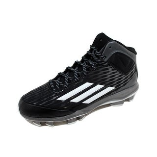 watch c0c0f b2064 Shop Adidas Men s Power Alley 3 TPU Mid Black White-Tech Grey S84714 Size  9.5 - Free Shipping On Orders Over  45 - Overstock - 20129436