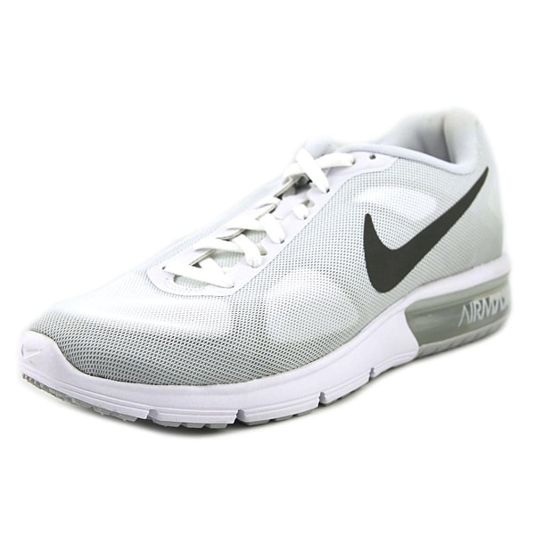 Nike Air Max Sequent Women Round Toe Synthetic Gray Running Shoe