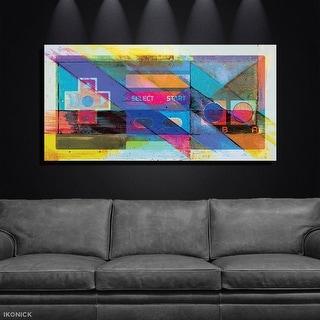 IKONICK Game On Canvas Art