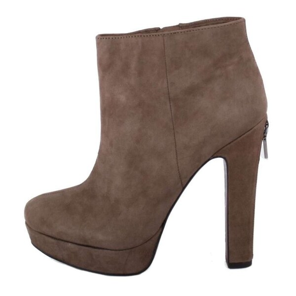 61f251eb6 BCBGeneration Womens Joesana Leather Almond Toe Ankle Fashion Boots - 6
