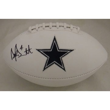 d33b9b05df7 Shop Dak Prescott Autographed Dallas Cowboys White Logo Football JSA - Free  Shipping Today - Overstock - 13484740