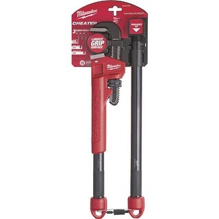 Milwaukee Elec.Tool Cheater Pipe Wrench 48-22-7314 Unit: EACH