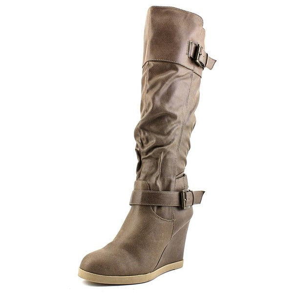 Dune London Tantor Women  Round Toe Suede  Knee High Boot
