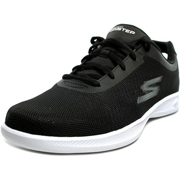 Skechers Go Step Lite-Endure Women Round Toe Canvas Black Running Shoe
