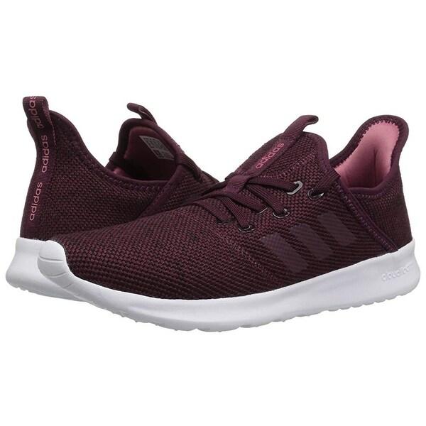 Shop Adidas Women Cloudfoam Pure Running Shoe, MaroonMaroon