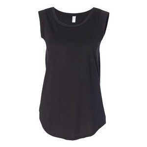 Women's Cap Sleeve T-Shirt - Black - M