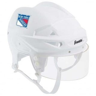 NY New York Rangers Franklin Sports NHL Mini Player Helmet