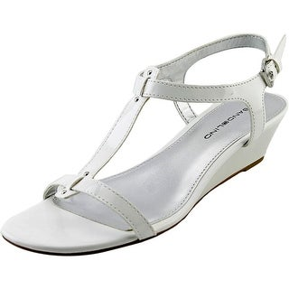 Bandolino Gurrey Open Toe Synthetic Wedge Sandal