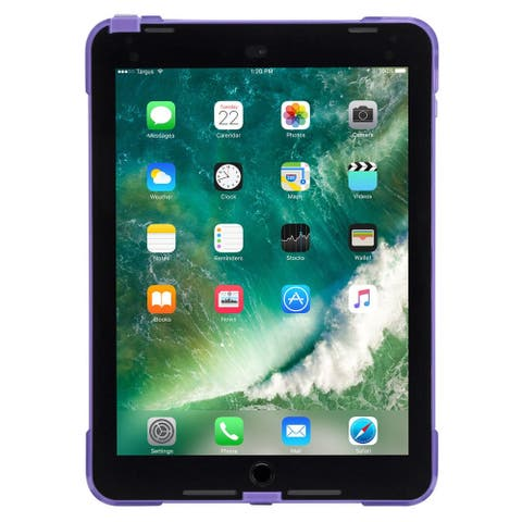 Targus SafePort Rugged Case for iPad (6th gen./5th gen.), iPad Pro (9.7-inch), and iPad Air 2 (Purple)