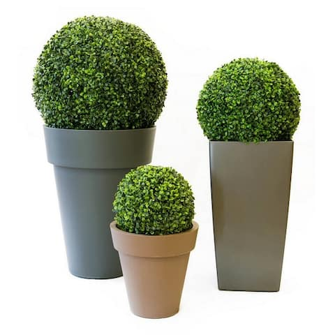 Artificial Decorative Boxwood Hedge Ball For Garden and Patio Use