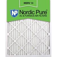 Nordic Pure18x24x1 Pleated MERV 13 AC Furnace Air Filters Qty 12