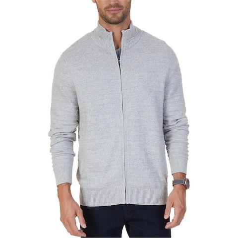 Nautica Mens Knit Cardigan Sweater