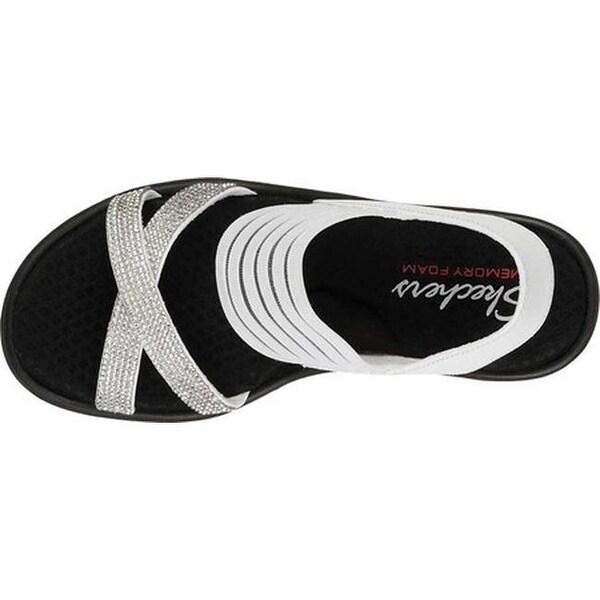 Shop Skechers Women's Rumblers Modern Maze Wedge Sandal